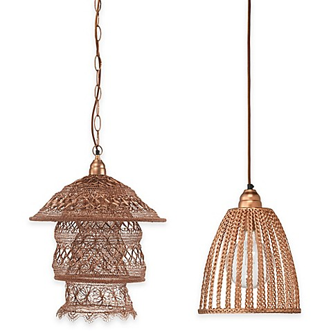 image of Brocade Pendant Light Collection