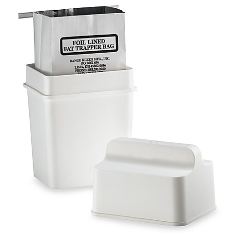 The Fat Trapper™ Grease Disposal System Bed Bath & Beyond