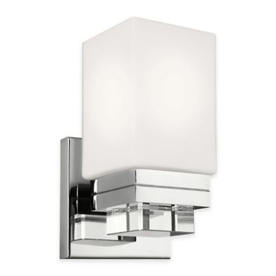Wall Lamps Bed Bath Beyond : Feiss Maddison 1-Light Wall Sconce in Polished Nickel - Bed Bath & Beyond