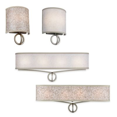 Feiss Parchment Park Vanity Light Collection - Bed Bath & Beyond