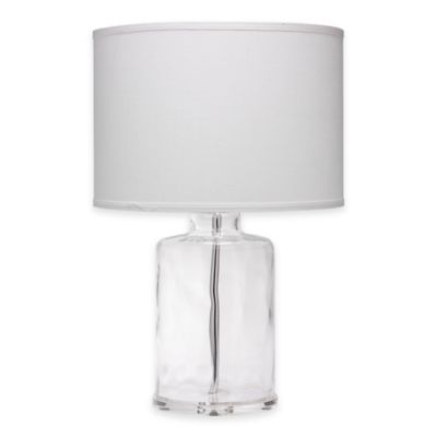 Delightful Jamie Young Napa Clear Glass Table Lamp