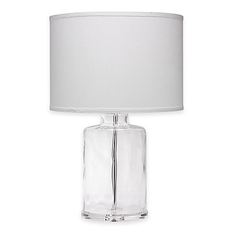 image of Jamie Young Napa Clear Glass Table Lamp