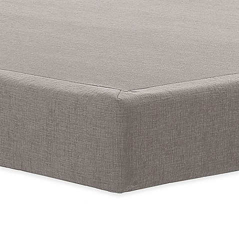 buy tempur pedic tempur flat 5 low profile twin xl foundation in grey from bed bath beyond. Black Bedroom Furniture Sets. Home Design Ideas