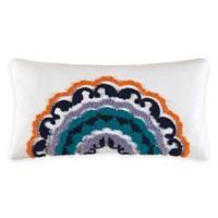 Zarina Tufted Oblong Throw Pillow
