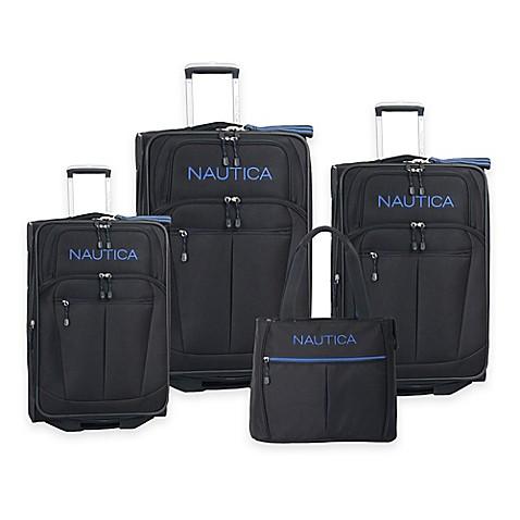 Nautica 174 Helmsman 4 Piece Luggage Set Bed Bath Amp Beyond