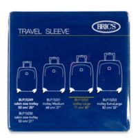 Bric's 30-Inch Transparent Luggage Cover for BLF/BAE Spinner