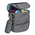 Columbia® Rugged Path™ Expandable Messenger Diaper Bag in Graphite