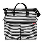 SKIP*HOP® Duo Special Edition Diaper Bag in Black Stripes