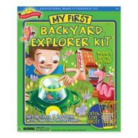 Scientific Explorer® My First Backyard Explorer Kit