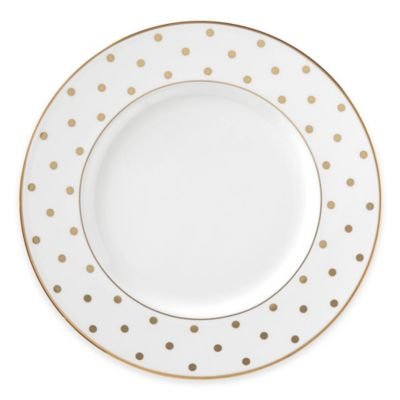 kate spade new york Larabee Road™ Gold Accent Plate  sc 1 st  Bed Bath \u0026 Beyond & Buy Kate Spade Accent Plate from Bed Bath \u0026 Beyond
