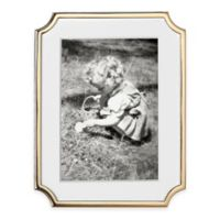 kate spade new york Sullivan Street™ Gold 5-Inch x 7-Inch Picture Frame