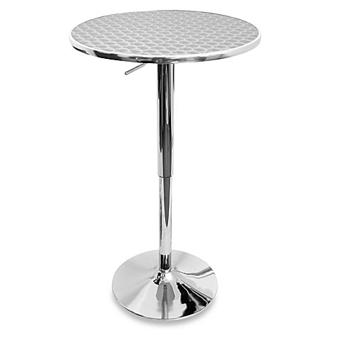 LumiSource Airlift Adjustable Bistro Table