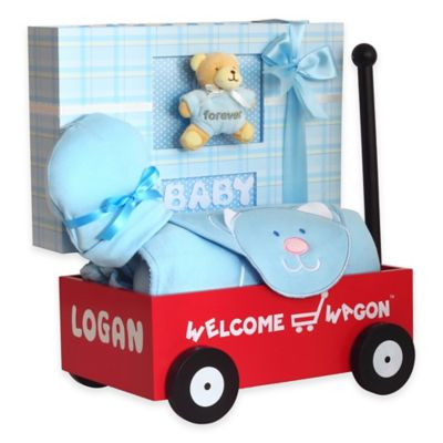 Buy baby gifts from bed bath beyond silly phillie creations welcome wagon baby gift in blue negle Choice Image