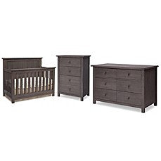 Elegant Sertau0026reg; Northbrook Nursery Furniture Collection In Rustic Grey
