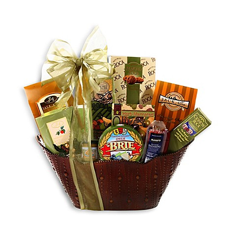 Alder creek christmas in wine country holiday gift basket Country christmas gifts to make