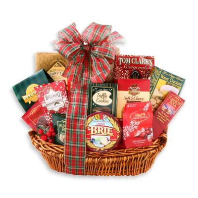 Buy christmas gift basket from bed bath beyond alder creek holiday indulgence gift basket negle Gallery