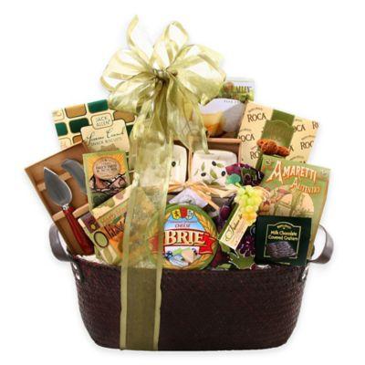 Buy gourmet gift baskets from bed bath beyond alder creek bronze sage gift basket negle Image collections