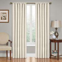 SolarShield® Kate 84-Inch Rod Pocket Room Darkening Window Curtain Panel in Ivory