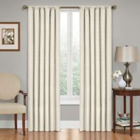 SolarShield® Kate 63-Inch Rod Pocket Blackout Window Curtain Panel in Ivory