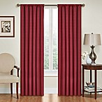 SolarShield® Kate 95-Inch Rod Pocket Blackout Window Curtain Panel in Ruby