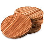 Thirstystone® Cinnabar Sandstone Coasters (Set of 4)