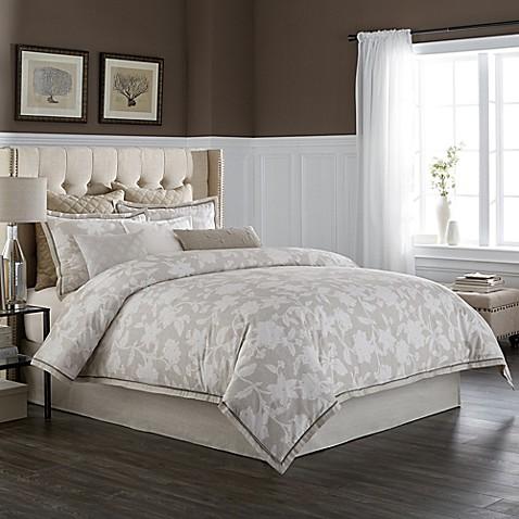 Delightful Wamsutta® Secret Garden Comforter Set In Natural