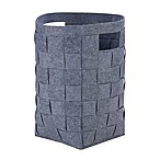 Honey-Can-Do® Woven Felt Hamper in Grey
