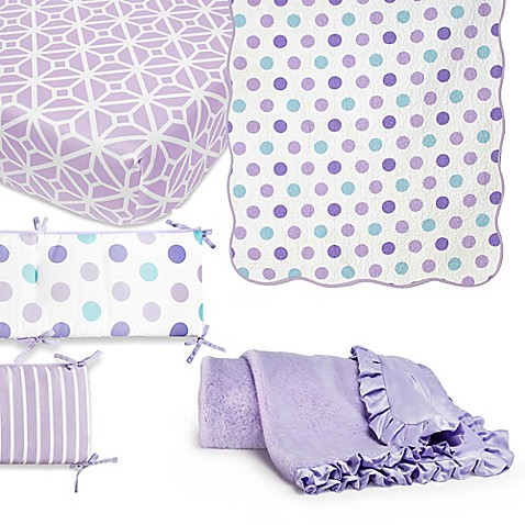 Cocalo 174 Mix Amp Match Violet Crib Bedding Collection