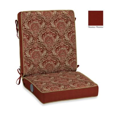 Bombay® Venice Adjustable Comfort Chair Cushion - Buy Red Patio Chair Cushion From Bed Bath & Beyond
