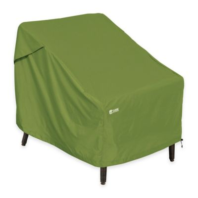 Superb Classic Accessories® Sodo Patio Chair Cover In Green