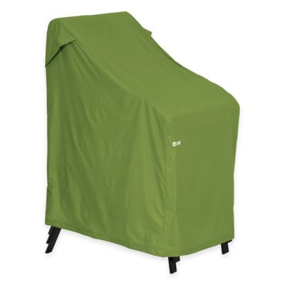 Classic Accessories Sodo Stackable Chair Cover In Green