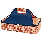 Picnic at Ascot Thermal Food Carrier in Orange/Navy