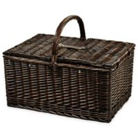 Picnic at Ascot Buckingham Picnic Basket for Four with Blanket