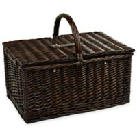 Picnic at Ascot Buckingham Picnic Basket for Four with Coffee Service