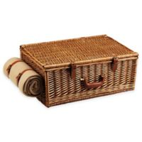 Picnic at Ascot Dorset Basket for Four in London with Coffee Set and Blanket