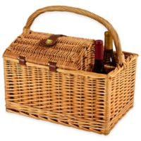 Picnic at Ascot Vineyard Willow Picnic Basket for 2