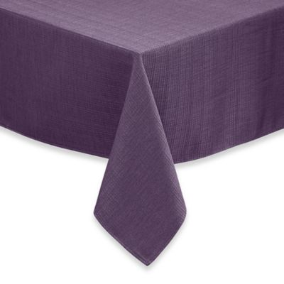 Beautiful Noritake® Colorwave 70 Inch X 140 Inch Oblong Tablecloth Plum