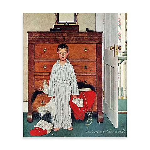 Norman rockwell discovery 24 inch x 31 inch canvas wall for Discovery 24 shop