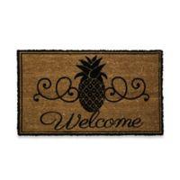 Pineapple Welcome Door Mat Insert