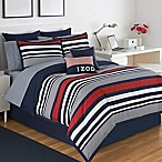 IZOD® Varsity Stripe Reversible Queen Comforter Set