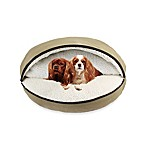 Precious Tails Felt 35-Inch Cave Pet Bed in Tan