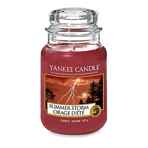 Yankee Candle Summer Storm Scented Candles Bed Bath