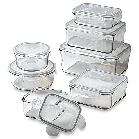 Store n 39 lock storage containers bed bath beyond for Bathroom containers with lids