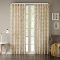 INK+IVY Hawthorne 63-Inch Rod Pocket Window Curtain Panel in Spice