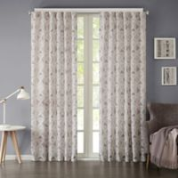 INK+IVY Hawthorne 63-Inch Rod Pocket Window Curtain Panel in Grey