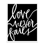 Love Never Fails Wall Art