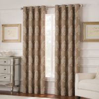 Valeron Belvedere 95-Inch Grommet Top Room-Darkening Window Curtain Panel in Mocha
