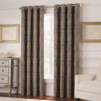 Valeron Belvedere 84-Inch Grommet Top Room-Darkening Window Curtain Panel in Grey