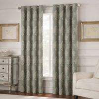 Valeron Belvedere 63-Inch Grommet Top Room-Darkening Window Curtain Panel in Spa