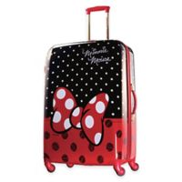 Disney® Minnie Red Bow 28-Inch 4-Wheel Spinner Suitcase from American Tourister®